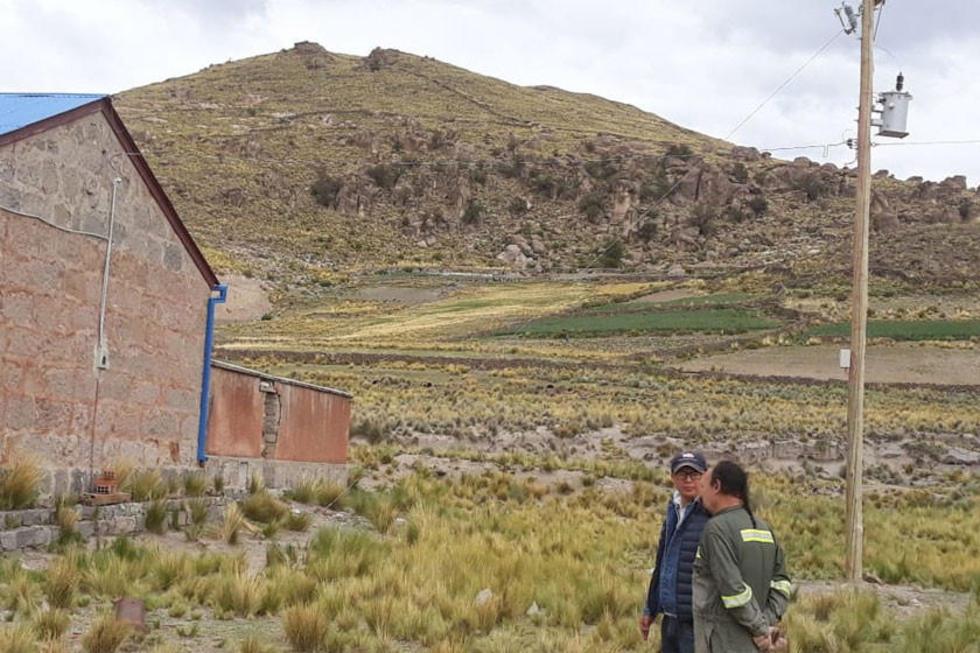 Agua Dulce también cuenta con espacio para el carguío de minerales.
