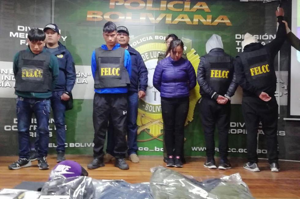 """Los acusados forman parte de la banda delincuencial liderada por alias """"El Camba"""""""