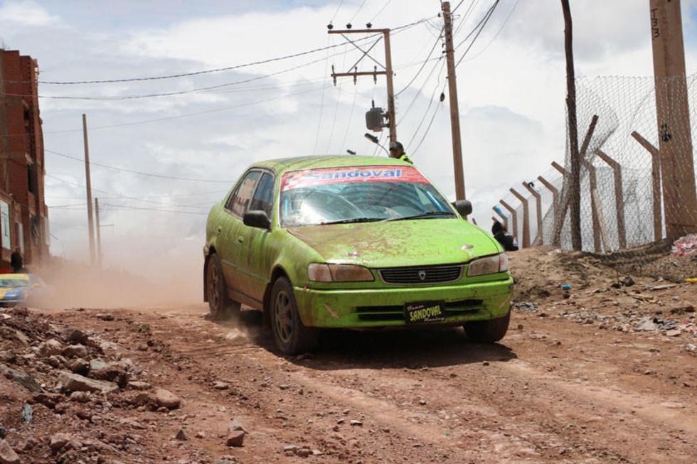 Luis Sandoval se convierte en una de las promesas del automovilismo