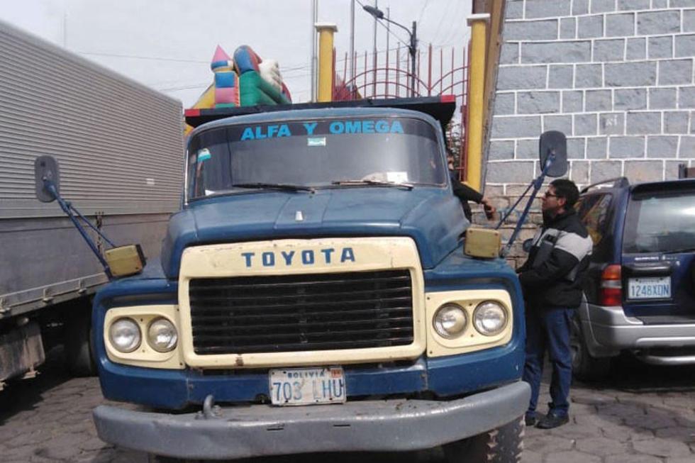El camión Toyota que esta gestión tendrá 52 años.