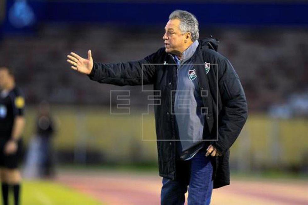 Flamengo presenta a Abel Braga como su nuevo técnico