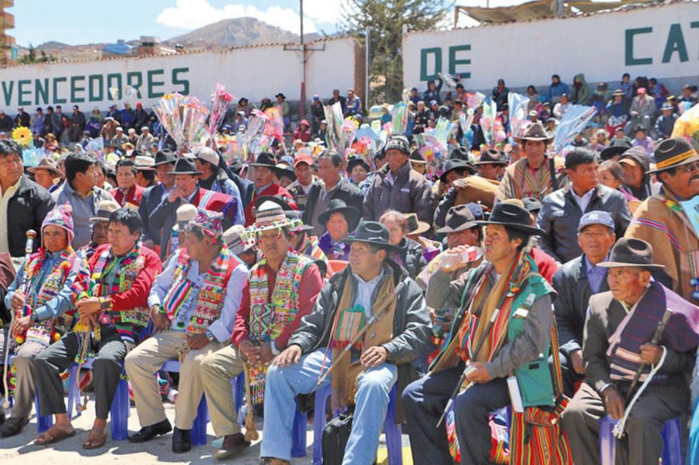Estarán presentes representantes de los 40 municipios de Potosí.