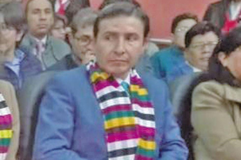 Ronald Martín Baldiviezo Flores.