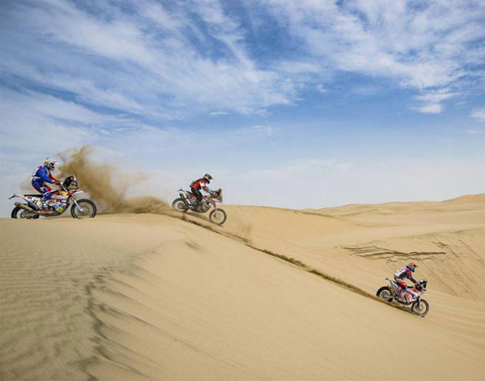 Nosiglia sube hasta el noveno lugar en  el Dakar