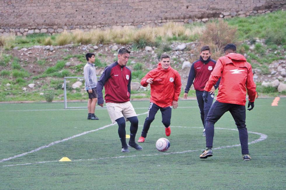 La banda roja trabaja en Sucre.