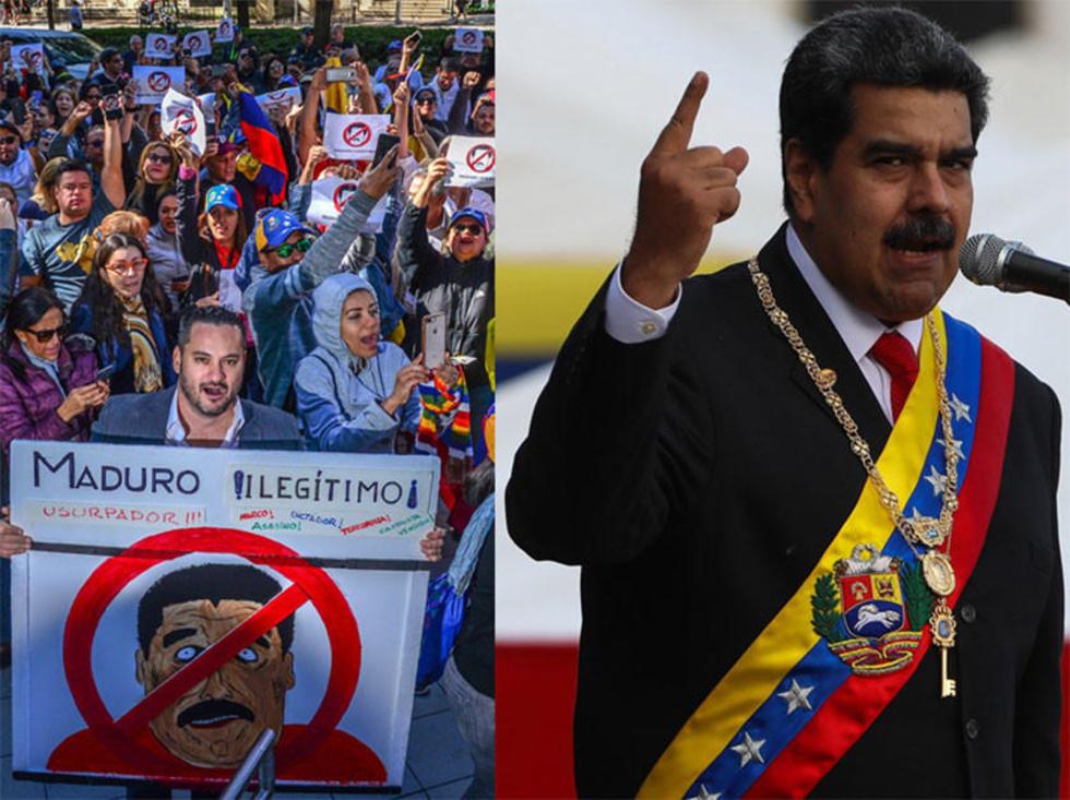 Maduro asume la presidencia en medio de crisis