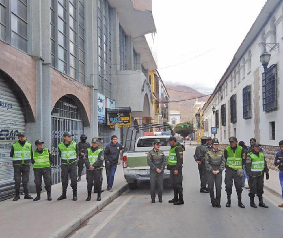 Cierran el centro de la ciudad por amenaza de bomba