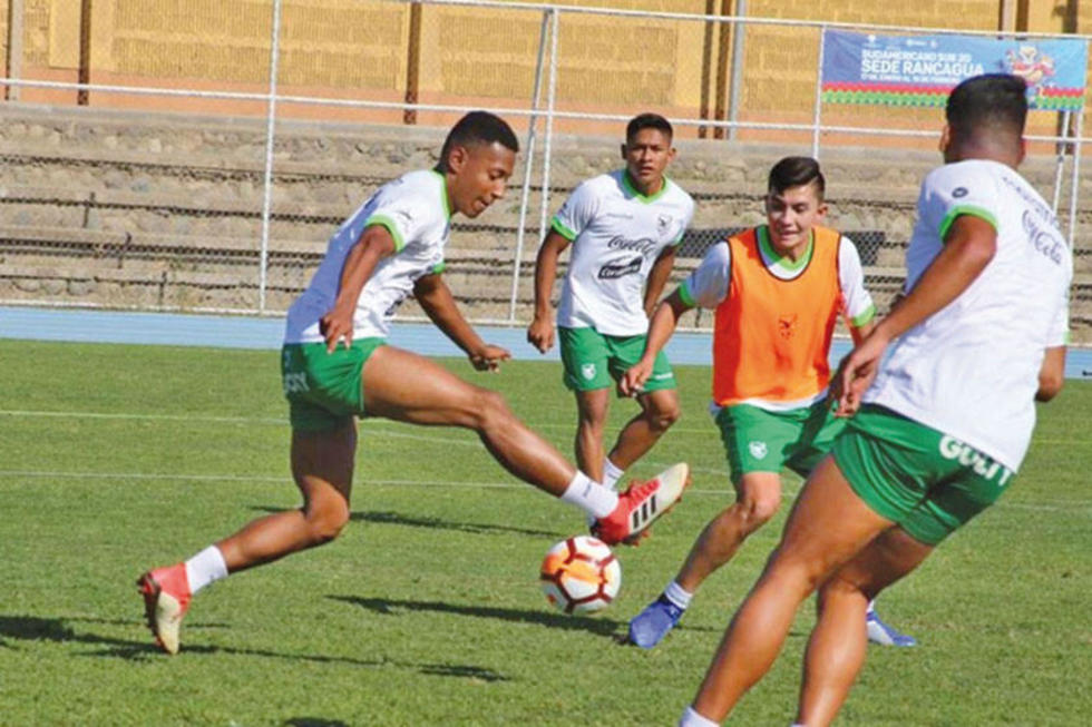La Sub-20 está lista para el debut contra Chile