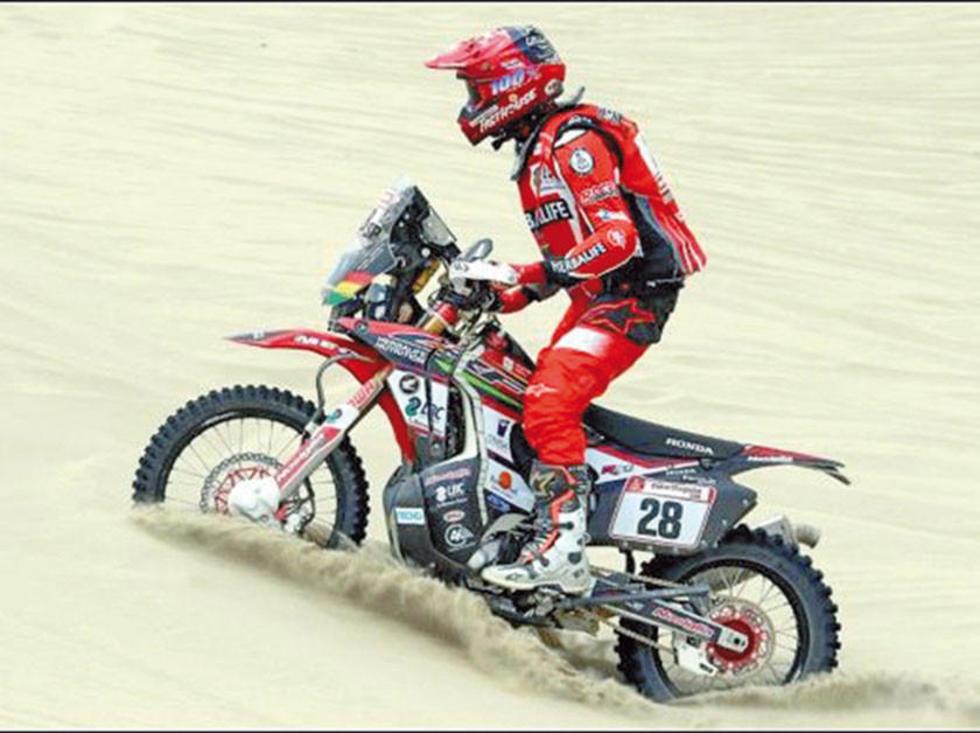 Nosiglia consolidó su décimo lugar en el Dakar