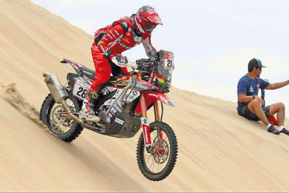 Daniel Nosiglia consolida su décimo lugar en el Dakar
