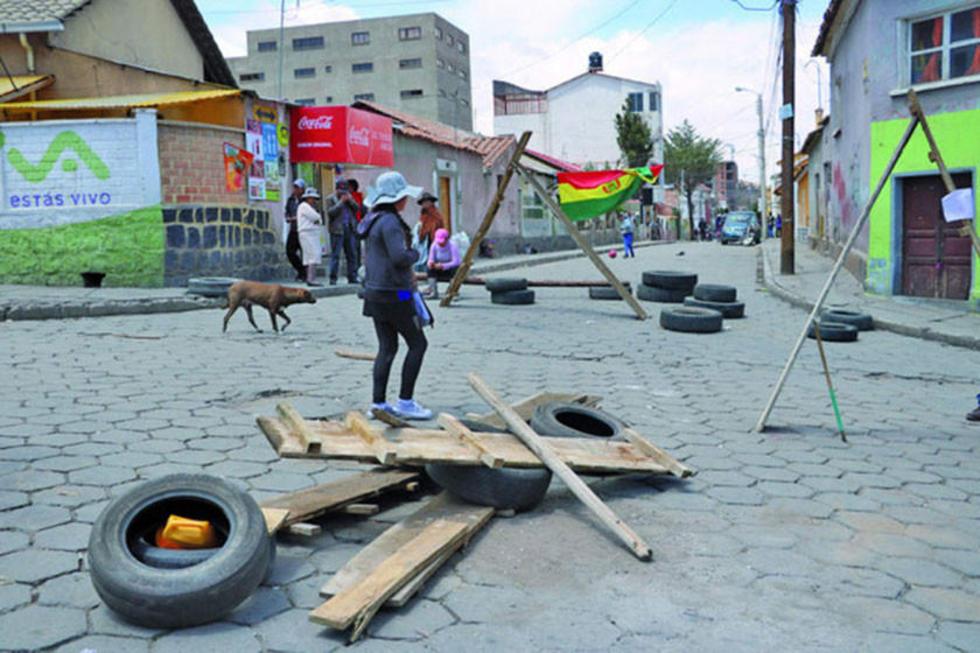 """El conflicto de la """"feria popular"""" se saldó con el traslado a la avenida Ferroviaria."""