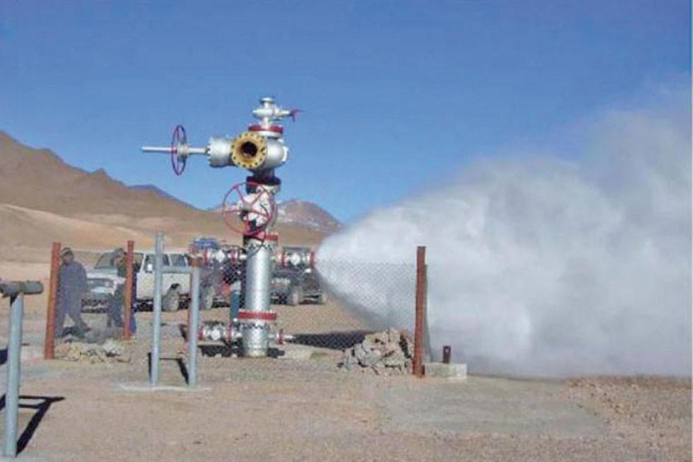 Anuncian consolidación de proyecto geotérmico de Laguna Colorada