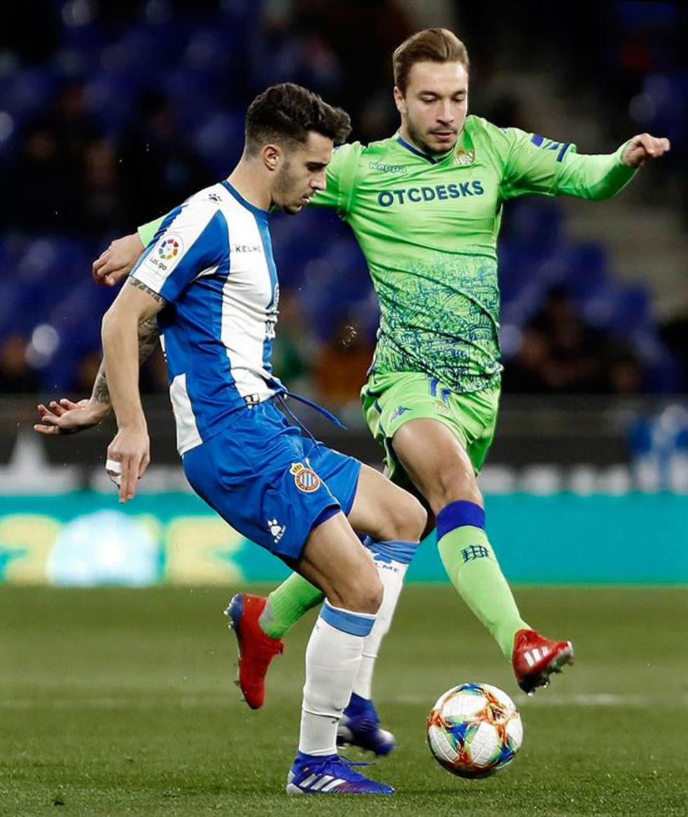 Betis consigue un empate ante Espanyol