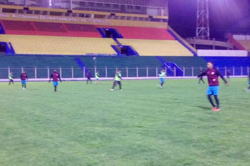 Nacional Potosí tiene todo listo  para su primer partido de local