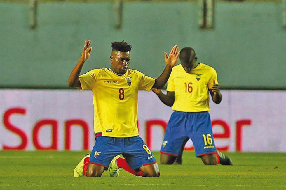 Ecuador defiende el liderato frente a Uruguay