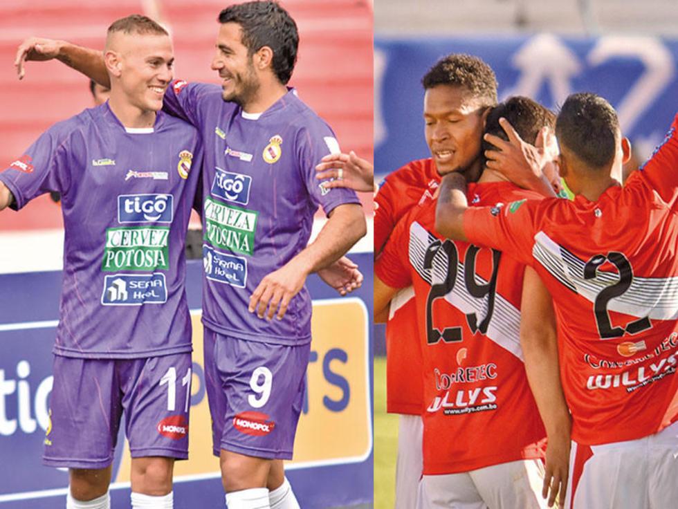 Equipos de Potosí van por puntos frente a sus rivales