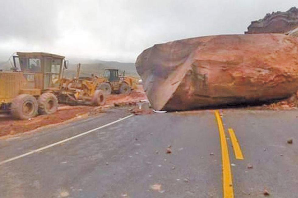 Los caminos presentan dificultades
