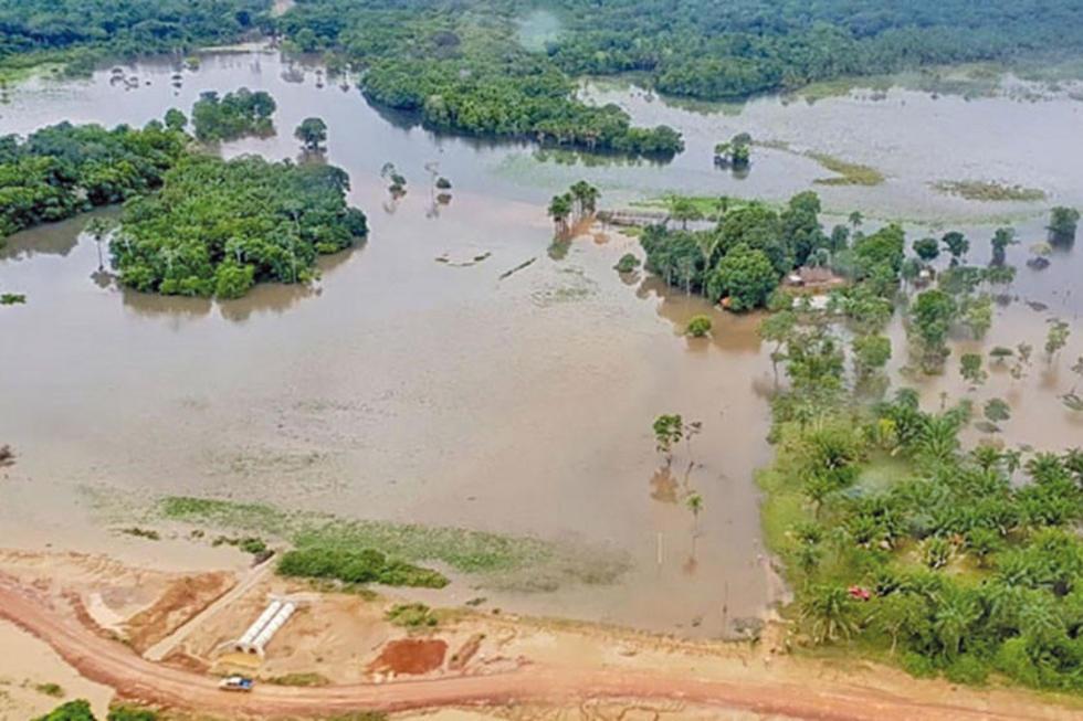 Los fenómenos climaticos dejaron 18 fallecidos, 12 personas desaparecidas.