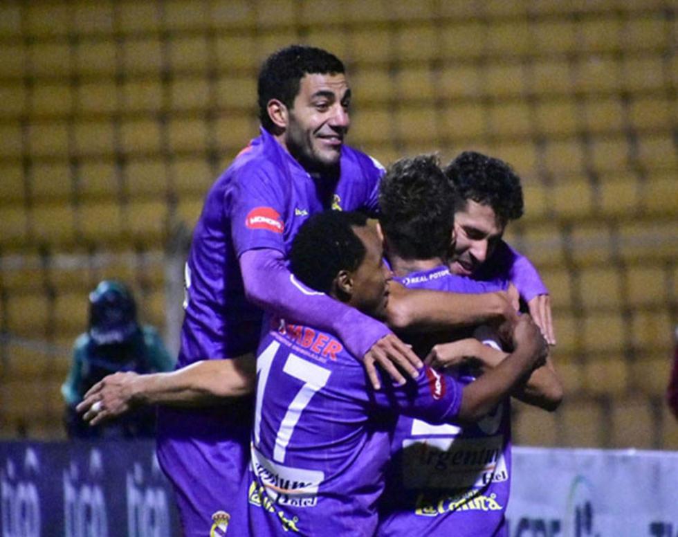 Real Potosí triunfa y se mete al lote de punteros del torneo
