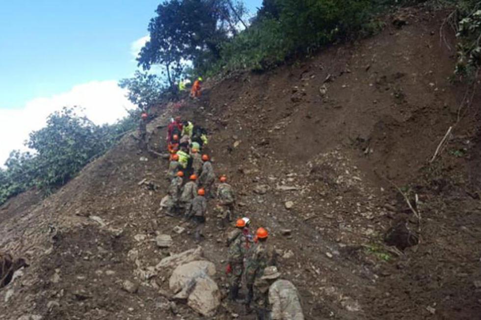 El 2 y 3 de febrero se produjeron dos deslizamientos que dejaron varios muertos, heridos y desaparecidos.