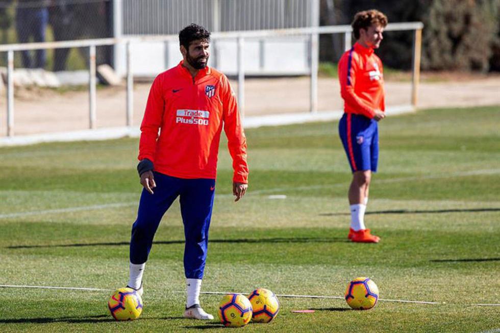 Atlético de Madrid recupera a Diego Costa para visitar a Rayo Vallecano