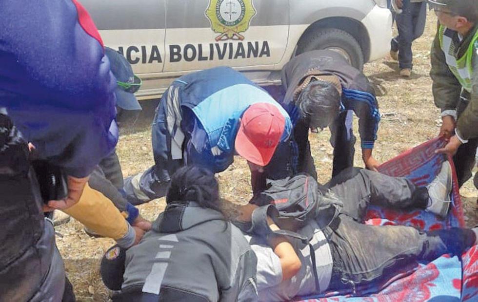 Un piloto potosino muere en Challapata