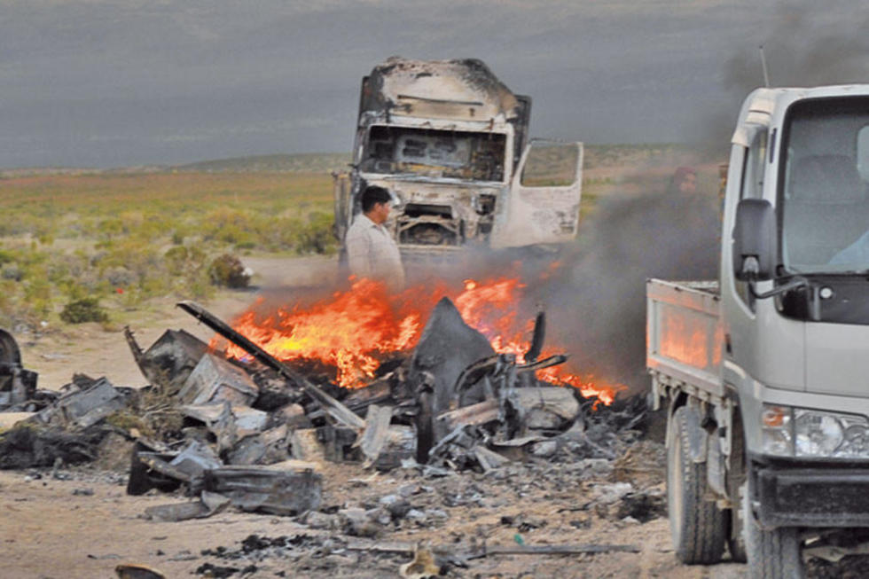 Enfrentamiento de policías y contrabandistas deja un muerto