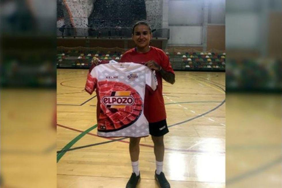 La boliviana María Cristina Gálvez  debuta con el club UCAM en España