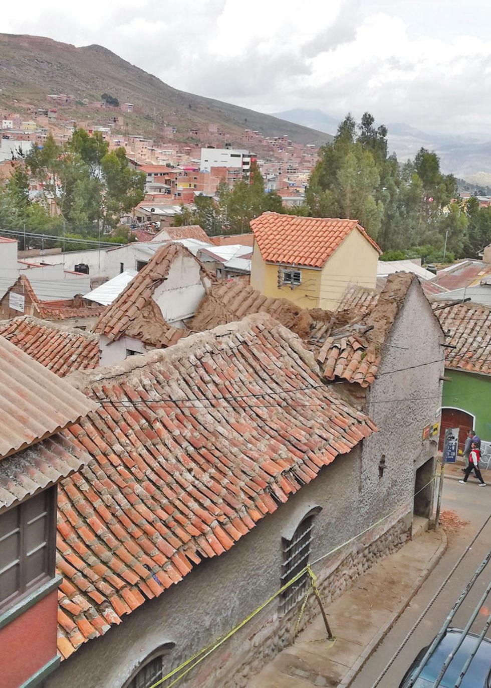 La casa del patricio potosino se halla en la esquina Nogales - Lanza.
