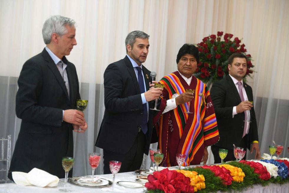 Bolivia y Paraguay suscribieron un contrato para la venta de GLP