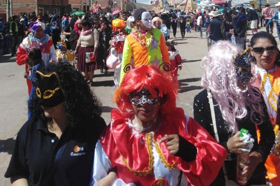 La entrada del Carnaval potosino en la nueva ruta.