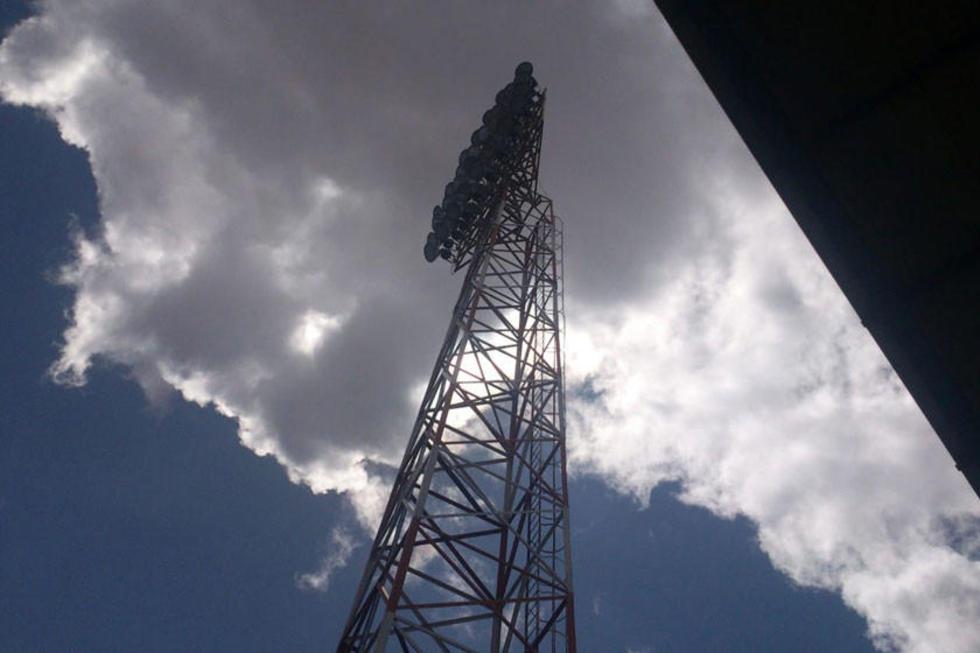 Una de las torres que será intervenida.