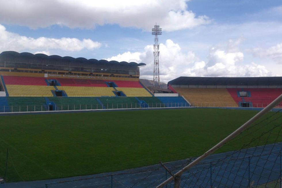 Vista general del escenario deportivo.