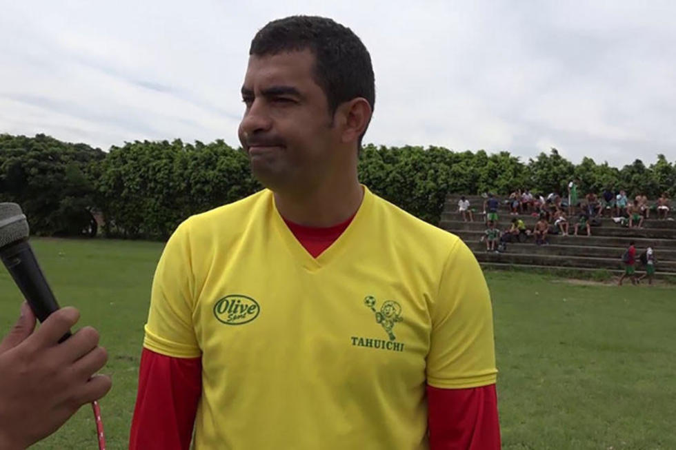 El extécnico de Guabirá, Ronald Arana.