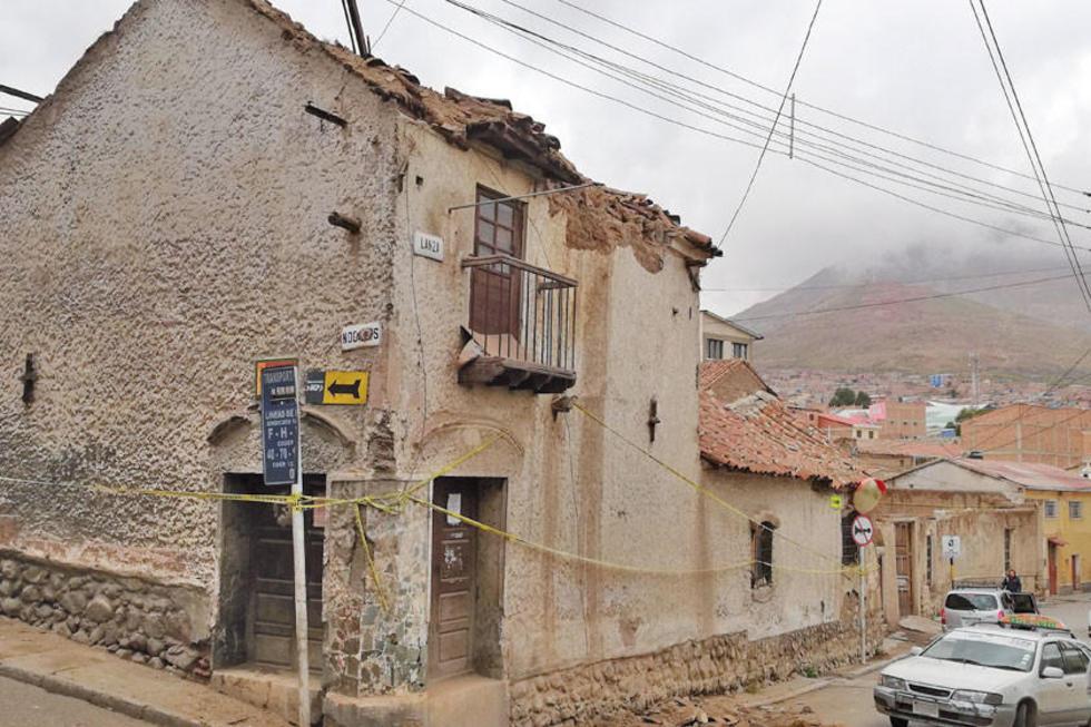 La fachada de la vivienda de Categoría B.