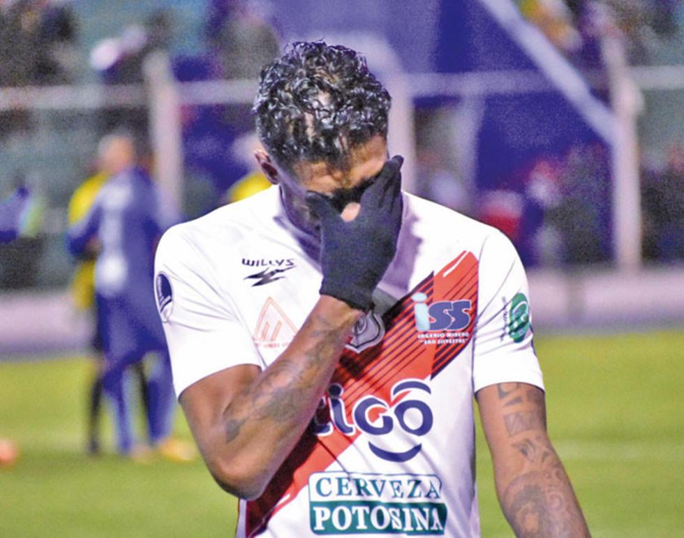 Nacional Potosí cae en la Copa Sudamericana ante el Zulia