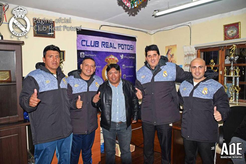El técnico argentino será colaborado por Juan José Miranda, José Barrios y Jorge Alejandro Villegas.