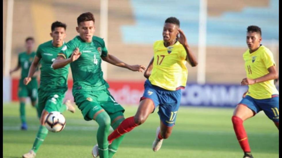 La sub-17 de Bolivia cayó ante Ecuador en su debut en el Sudamericano