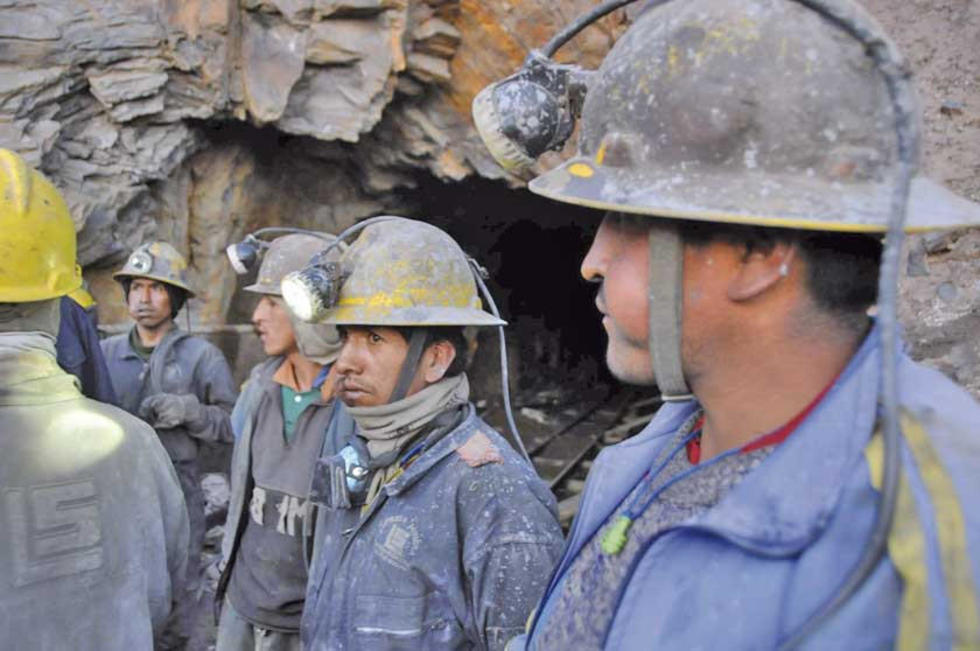 Los mineros esperan un adecuado incremento salarial.