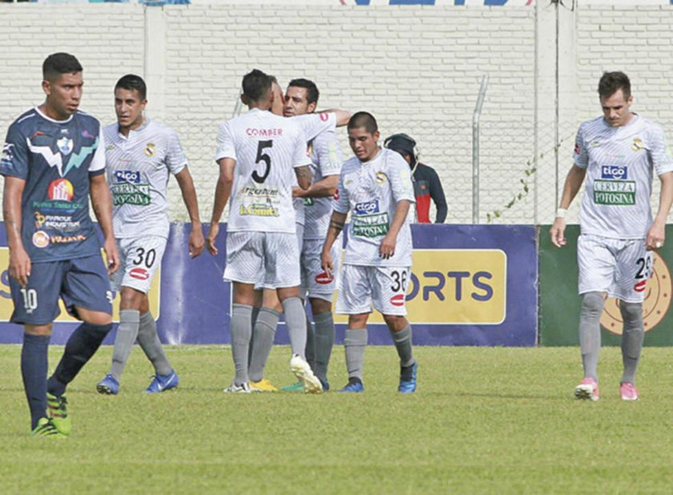 Real Potosí arranca un punto en partido con Sport Boys