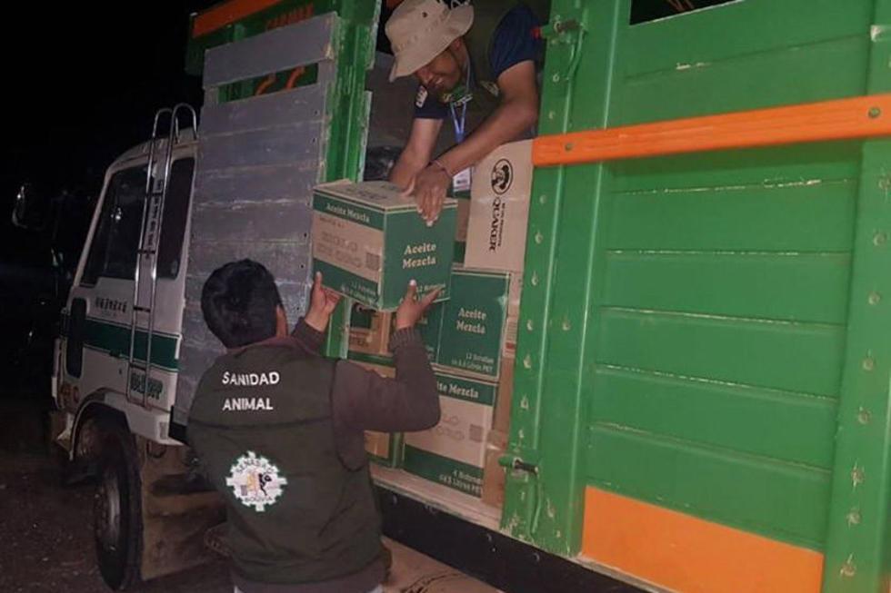 El Senasag incauta 16 toneladas de artículos de contrabando