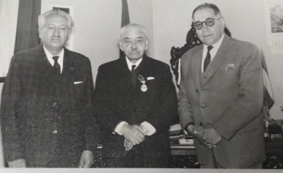 Ricardo Bohórquez Ramírez, Raúl Jaimes Freira y Armando Alba.