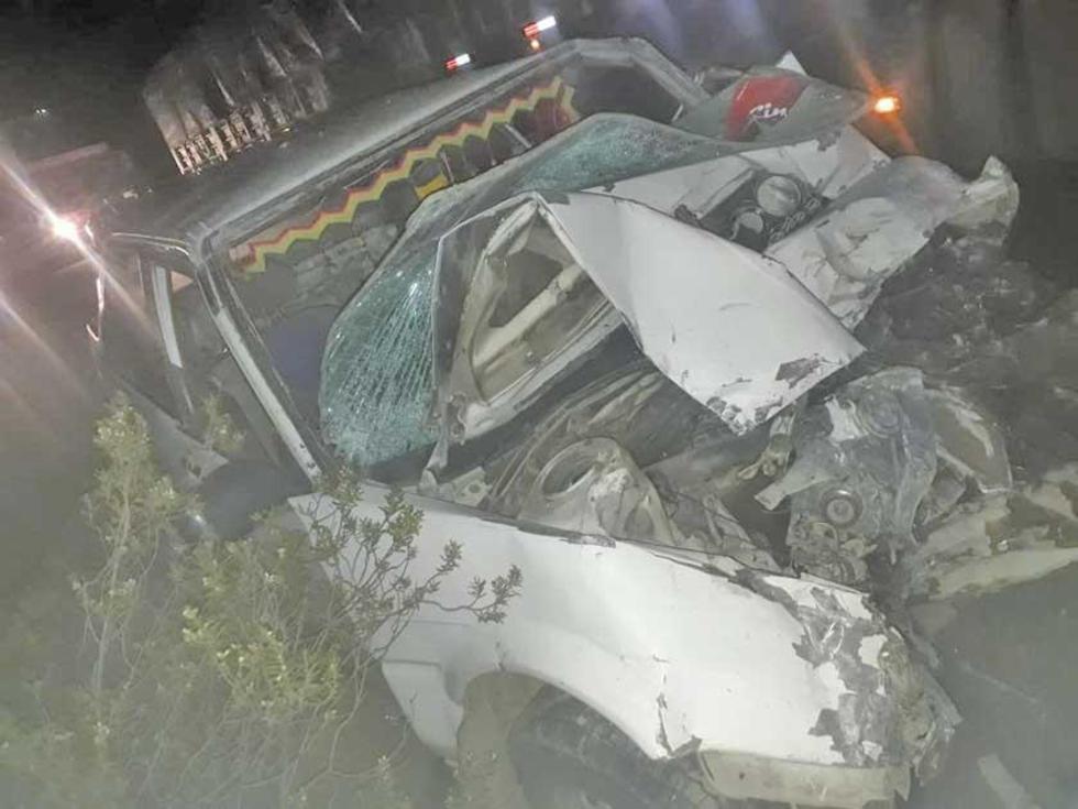 Una triple colisión deja 11 personas heridas en el Cruce Chaquí