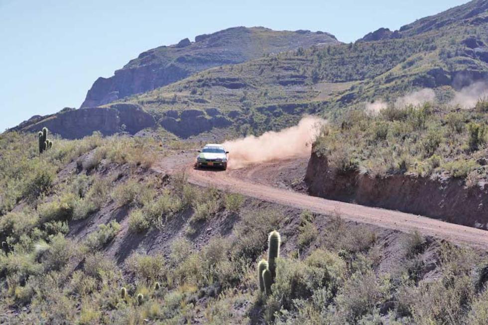 El tramo tuvo varias curvas cerradas.