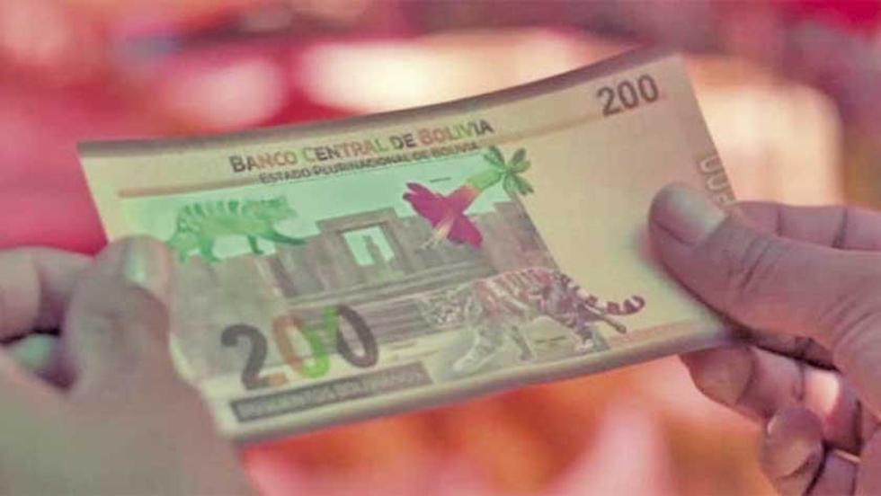 Es el quinto y último corte de la Familia de billetes del Estado Plurinacional.