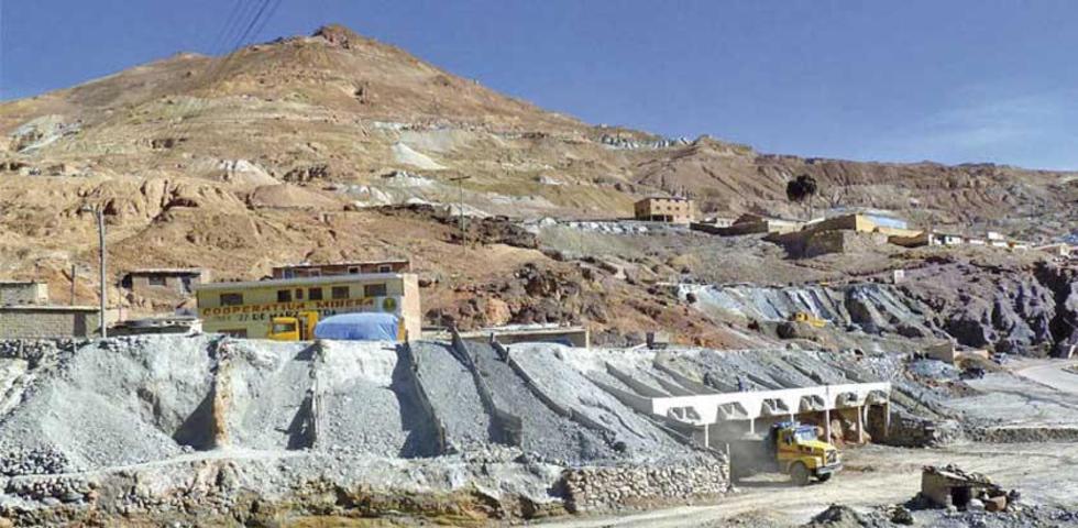 Se busca reducir los trabajos de extracción de carga en los niveles superiores del yacimiento minero.
