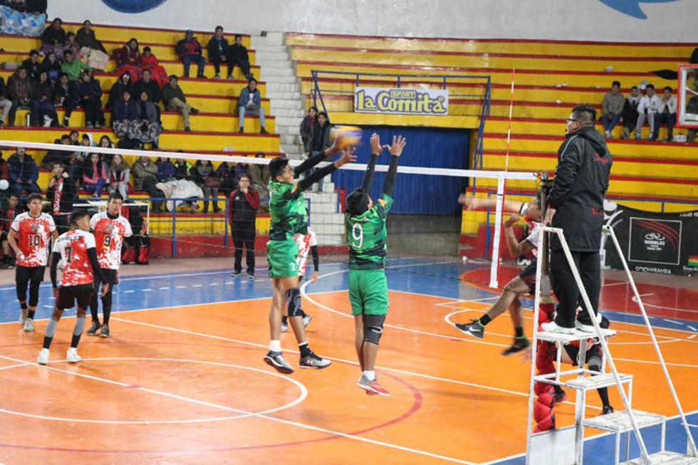 Lupita clasifica a semifinales del nacional  de voleibol