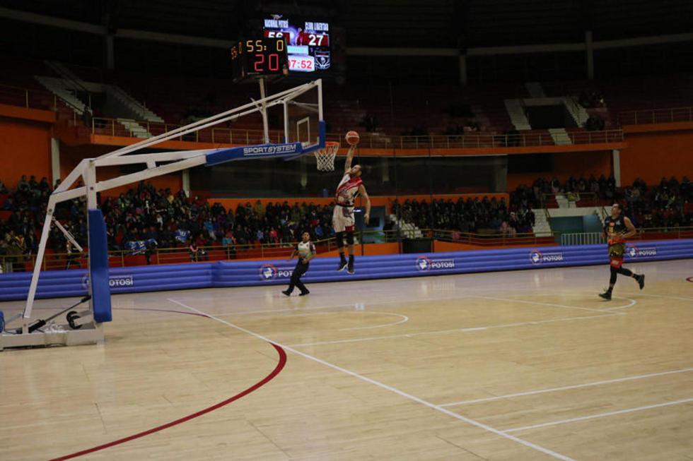 Nacional Potosí quiere dar el primer golpe en la semifinal de básquet