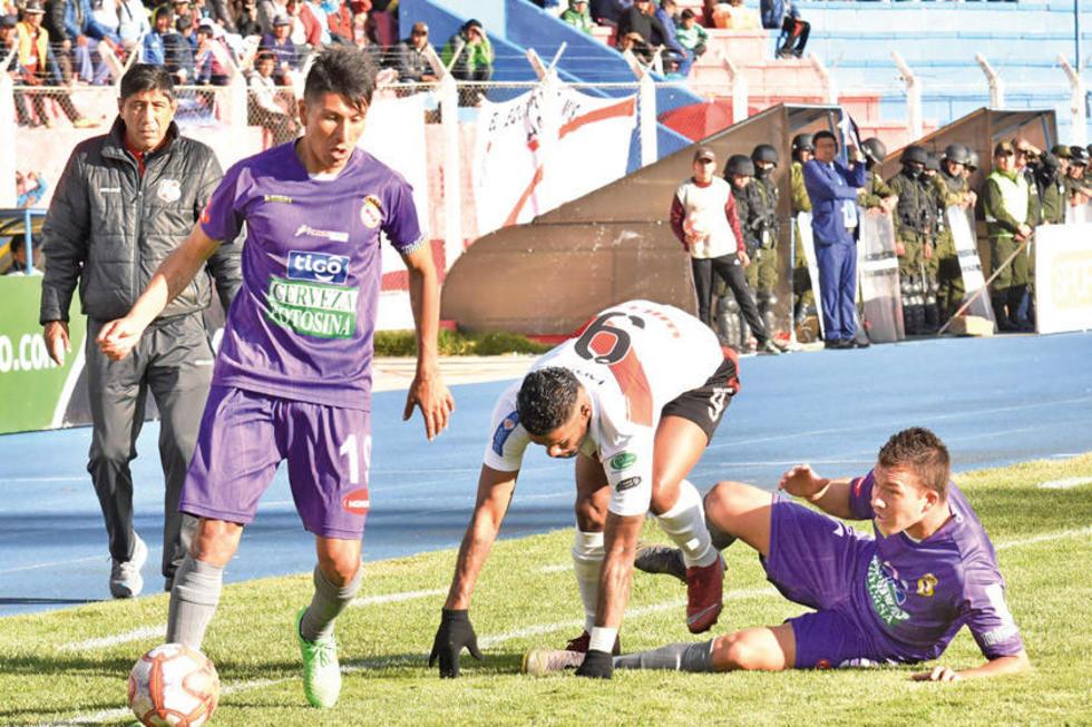 Real Potosí pretende frenar al líder del torneo Apertura