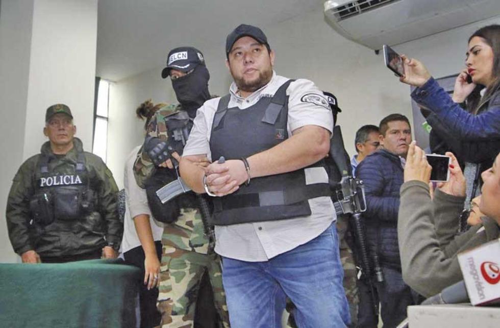 Fue presentado ayer en la tarde en el Comando de la Policía en Santa Cruz.